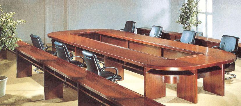 广州家具邀您欣赏欧式实木会议桌